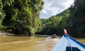 """A two hour boat journey up river. McCann said it felt like something """"out of Apocalypse Now."""""""
