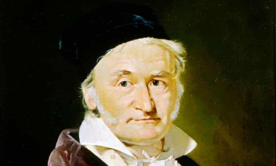 Karl Friedrich Gauss, German mathematician, astronomer and physicist, 1840. Artist: Christian Albrecht Jensen