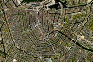 The canal system of Amsterdam - known as Grachten