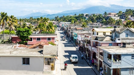 A street in Haiti