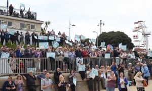 The Brexit party rally