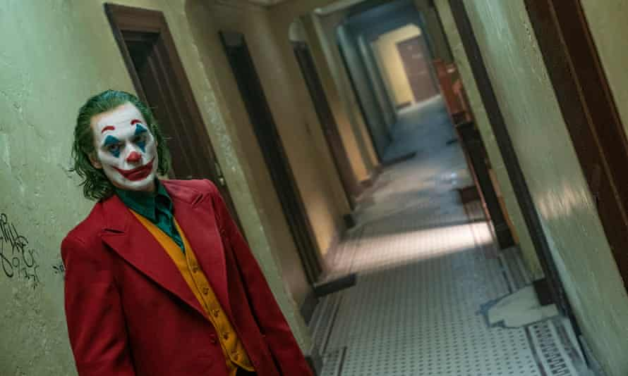 The clown prince of Gotham ... Joaquin Phoenix in Joker.