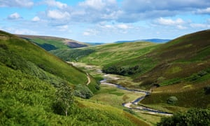 Hareden valley in the Trough of Bowland, Lancashire