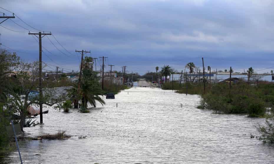Hurricane Harvey, Corpus Christi