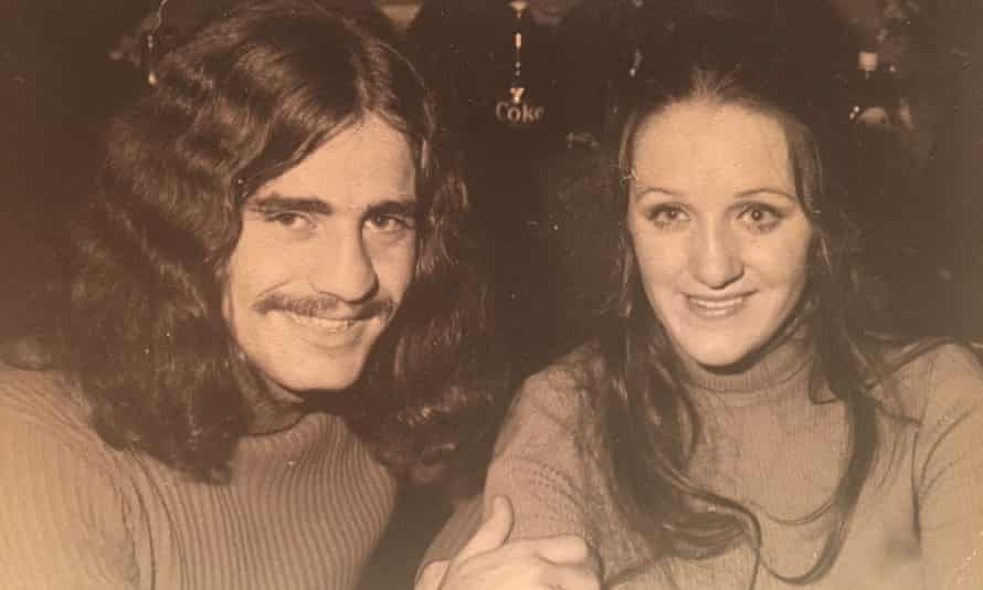Nunzio and Maureen Gambale at ANU in 1971 not long after they got together.