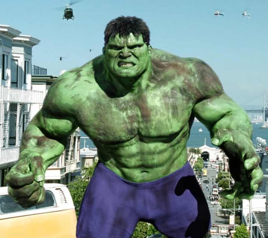 A Jungian case study on steroids … the Hulk in the 2003 film adaptation.