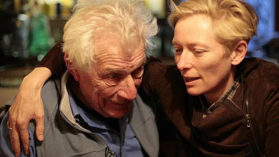 Berger with Tilda Swinton in The Seasons in Quincy.