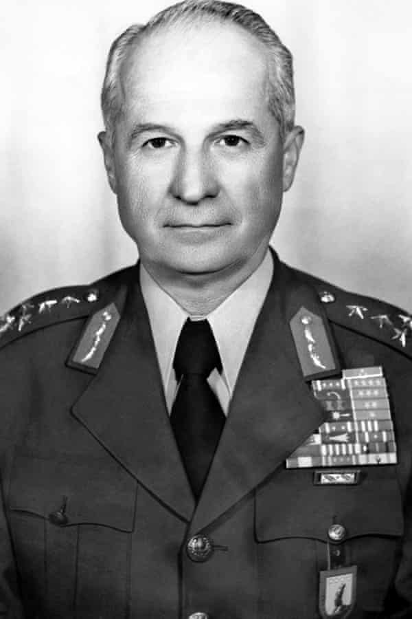 General Kenan Evren in 1977.