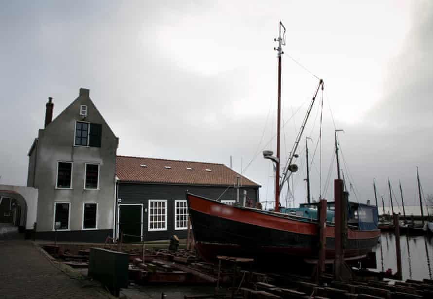 Urk's harbour
