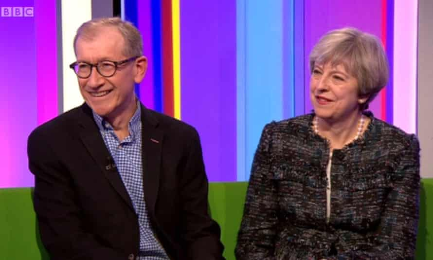 Philip May: the nervous hostage on the One Show sofa.