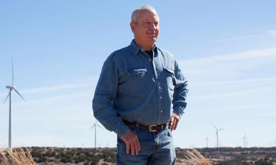 Louis Brooks says that initially he was very resistant to the idea of adding wind turbines to his ranch in Sweetwater, Texas.