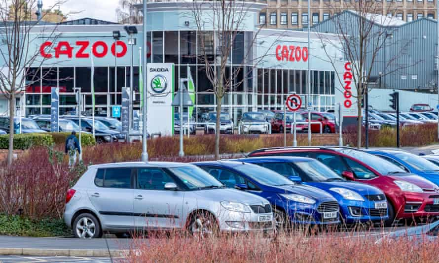Cazoo car sales showrooms