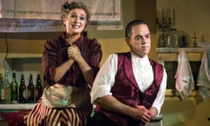 Siobhán McCarthy and Jeremy Secomb in Sweeney Todd