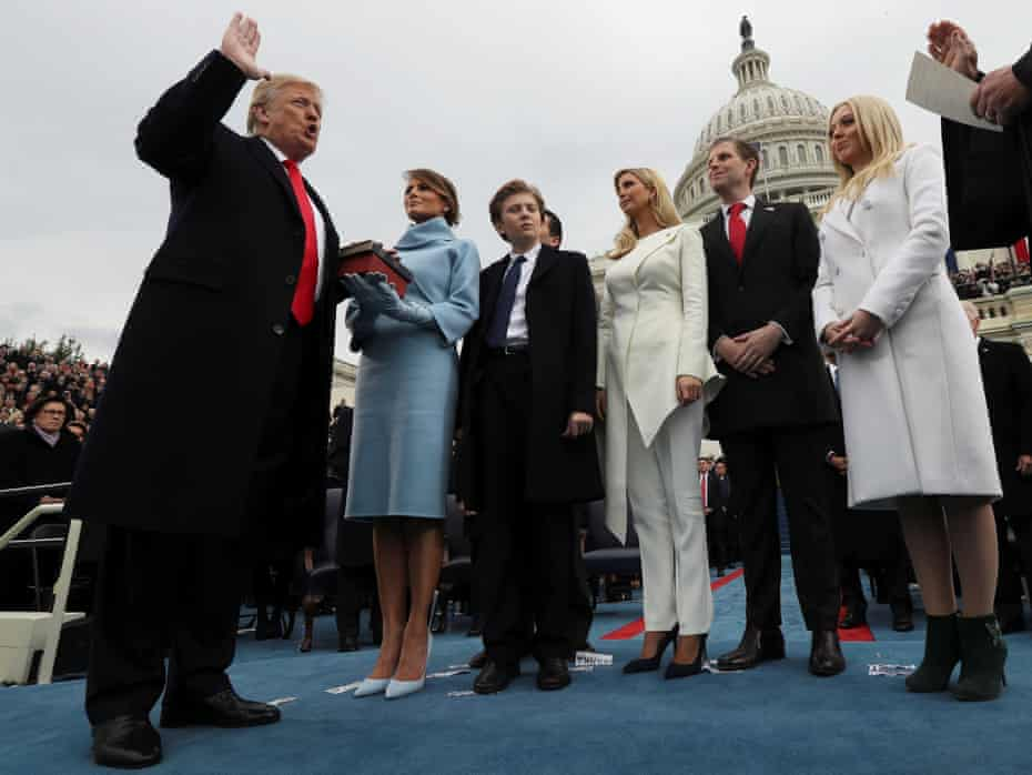 Donald Trump's inauguation in 2017 ushered in a new era of populism – and a resurgence of interest in Orwell's book.