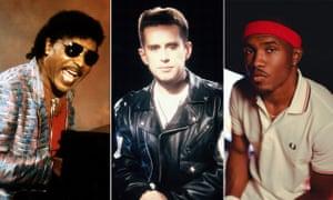 Little Richard, Holly Johnson and Frank Ocean.