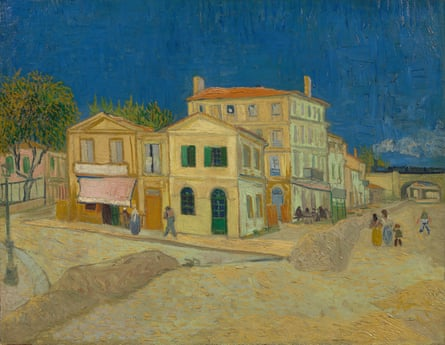 The Yellow House (The Street), 1888 by Vincent van Gogh.