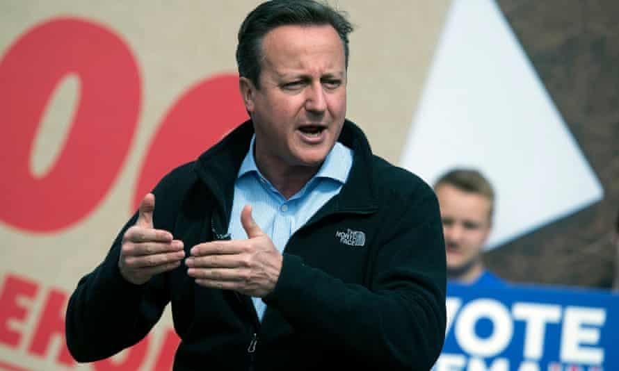 David Cameron speaks