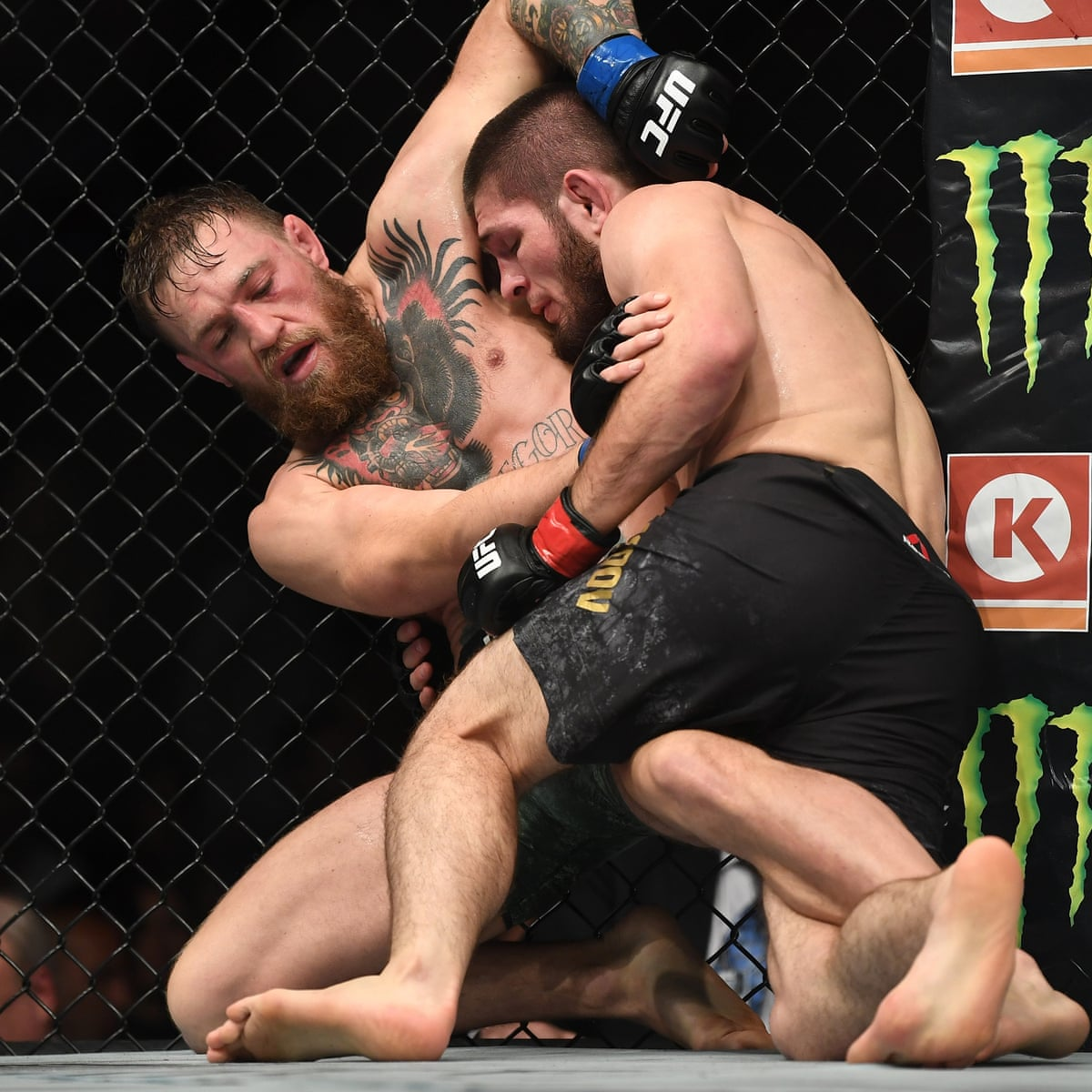 Khabib Nurmagomedov And Conor Mcgregor Suspended For Ufc 229 Brawl Ufc The Guardian