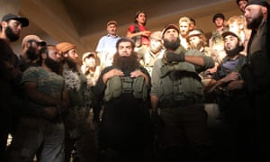 Fighters from the former Nusra – the groups has been renamed Fateh al-Sham but experts fear their ideology won't change.