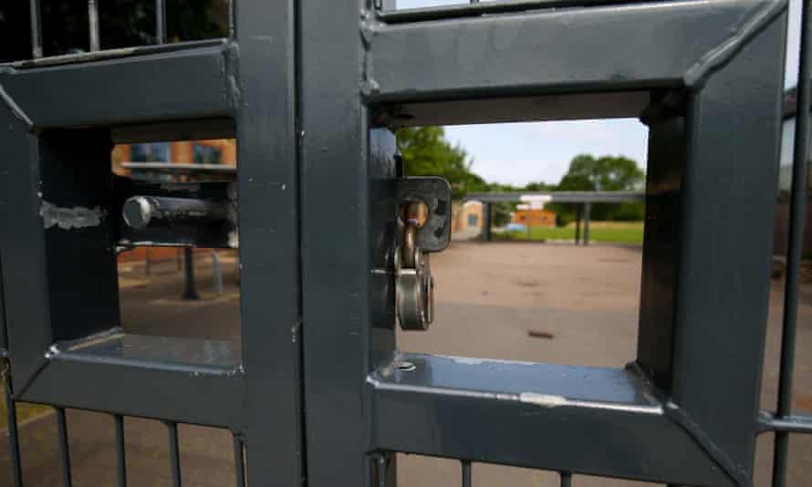 School gates closed