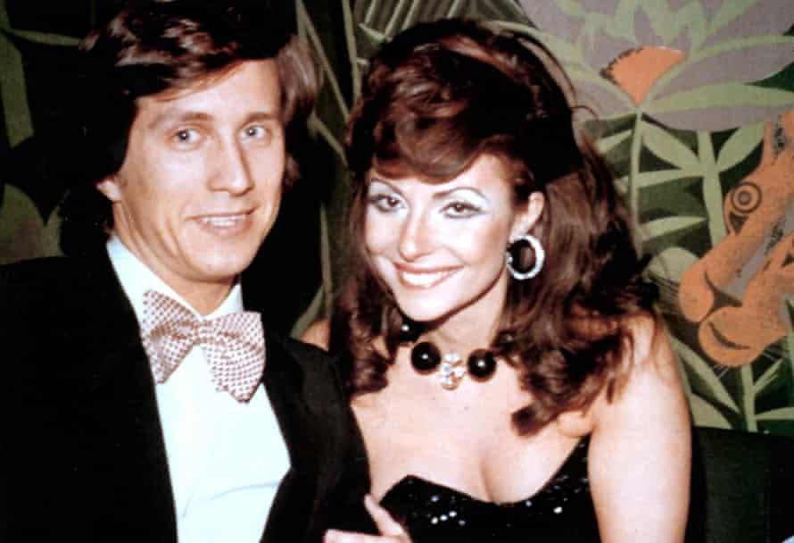 Maurizio Gucci and his wife Patrizia Reggiani.