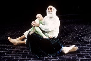 Warren Mitchell in King Lear at the Hackney Empire