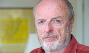 Tom Leonard at home in Glasgow in 2010.