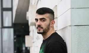 Afghan refugee Ahmed Zubair