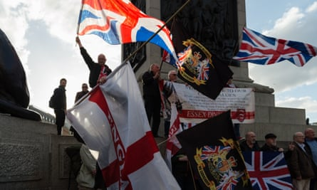 Far-right activists in London