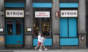 A London branch of Byron Hamburgers