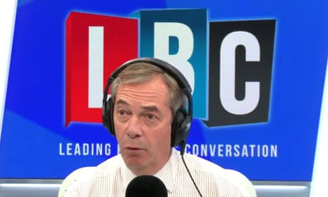 Johnson's Brexit could rule out US trade deal, Trump tells Farage - video