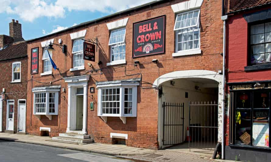 The Bell and Crown in Snaith.