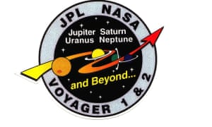 A new mission logo. On 10 October 1989 and 5 December 1989 the probes' cameras turn off