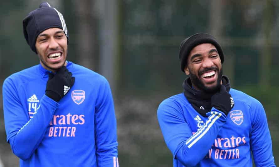 Arsenal's Pierre-Emerick Aubameyang and Alexandre Lacazette: could either of these players end up at Camp Nou before the summer is out?