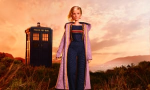 The Doctor Who Barbie, complete with tiny sonic screwdriver.
