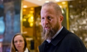 Brad Parscale in the lobby of Trump Tower during the transition on 3 December 2006.