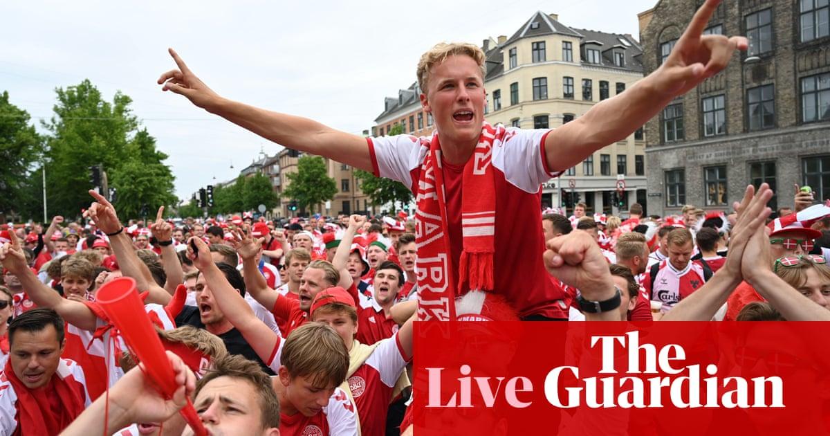 Russia v Denmark: Euro 2020 – live!