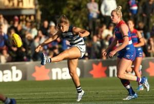 Western Bulldogs v Geelong, AFLW