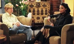 Ellen DeGeneres and Oprah Winfrey in Ellen
