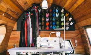 Patagonia mobile repair shop