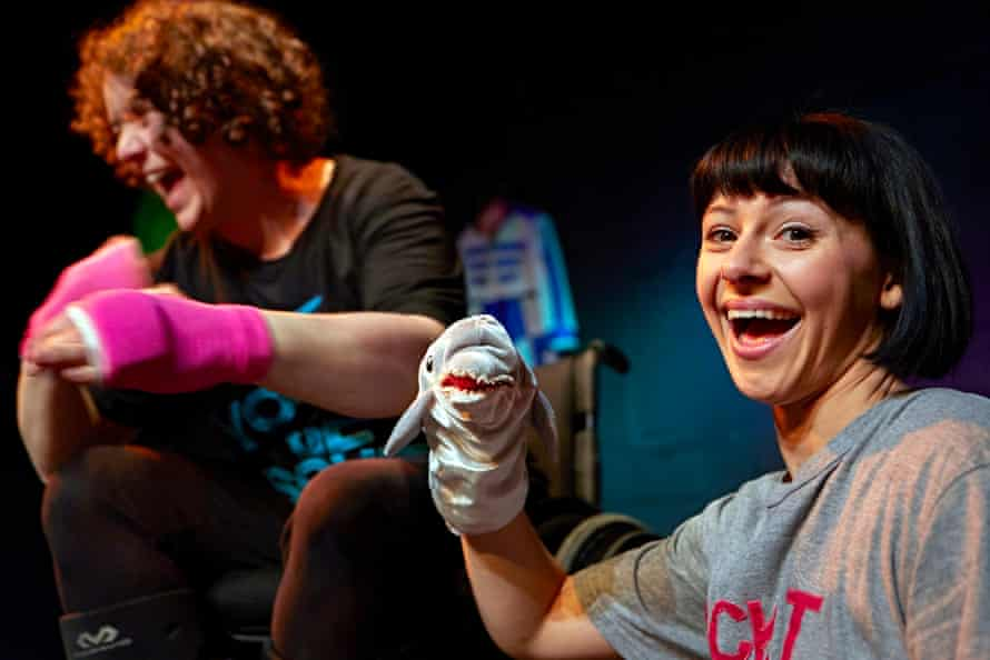 Jess Thom, Jess Mabel Jones and a sock puppet