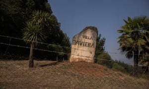 The entrance stone to Villa Baviera/Colonia Dignidad. Colonia Dignidad was the seat of an ex-Nazi religious sect led by convicted serial paedophile Paul Schäfer , who died in jail in 2010, and served as one of General Pinochet's secret police's clandestine torture sites.