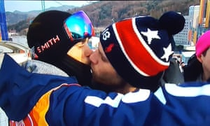 Gus Kenworthy's kiss with his boyfriend on NBC was greeted by acclaim