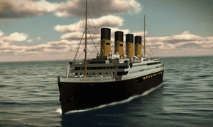 Screengrab from promotional video showing plans for the Titanic II.