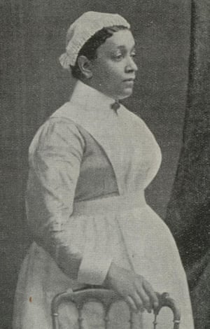 Annie Brewster, who came from St Vincent to London in the 1860s and worked at the London hospital in Whitechapel
