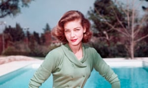 'You know how to whistle': Lauren Bacall.