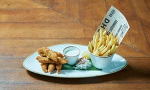 'Crisp, golden battered pieces': Amritsari fish fry.