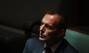Former prime minister Tony Abbott