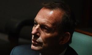 Tony Abbott in the House of Representatives