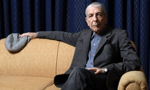'The parchedness of Methuselah matched by a roué's playfulness': Leonard Cohen.